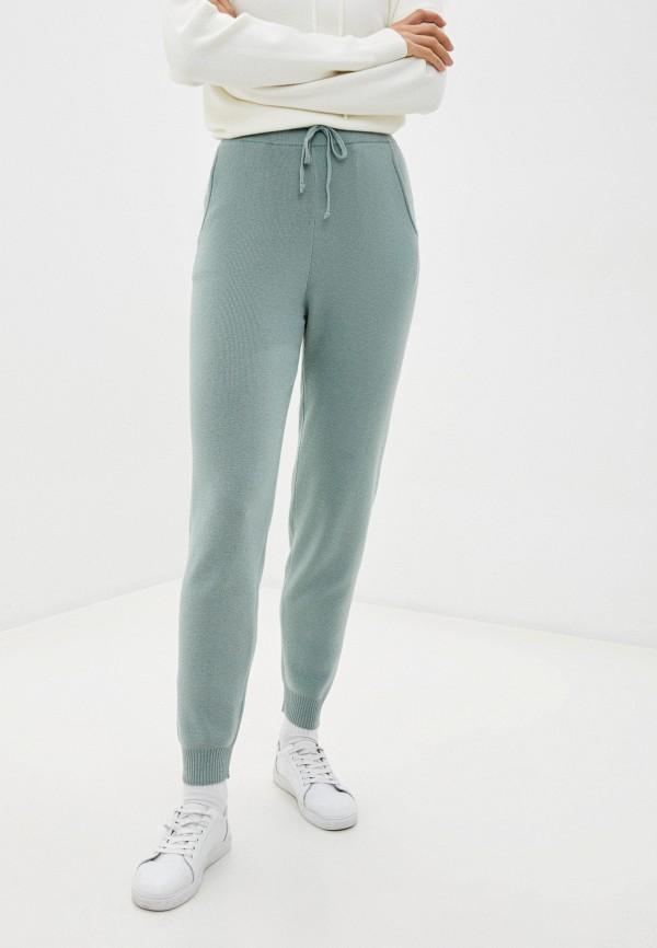 женские повседневные брюки baon, зеленые