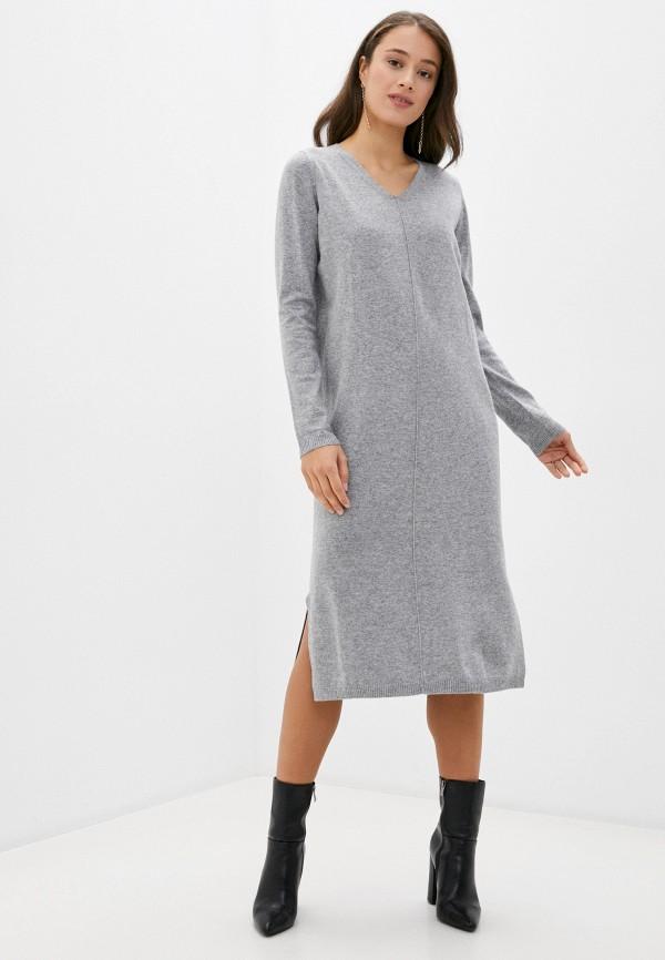 женское платье baon, серое