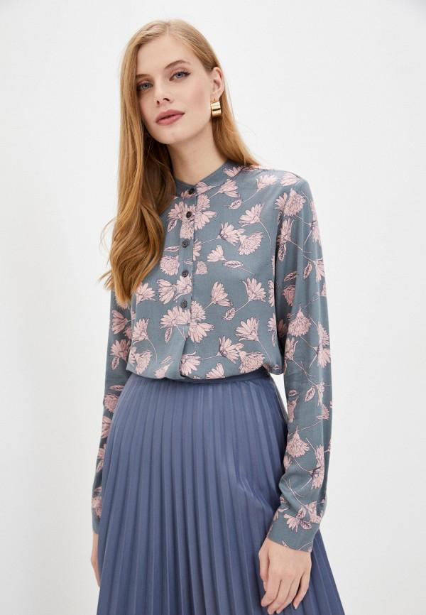 женская блузка baon, серая