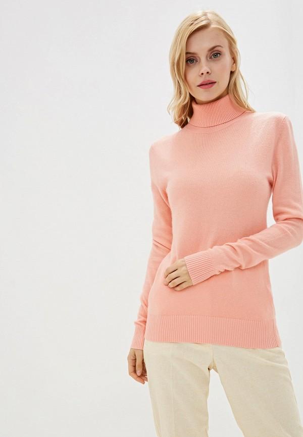 женская водолазка baon, розовая