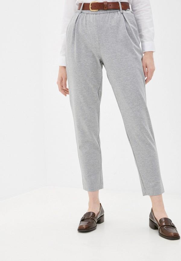 женские повседневные брюки baon, серые