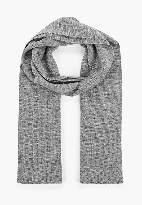 мужской шарф baon, серый