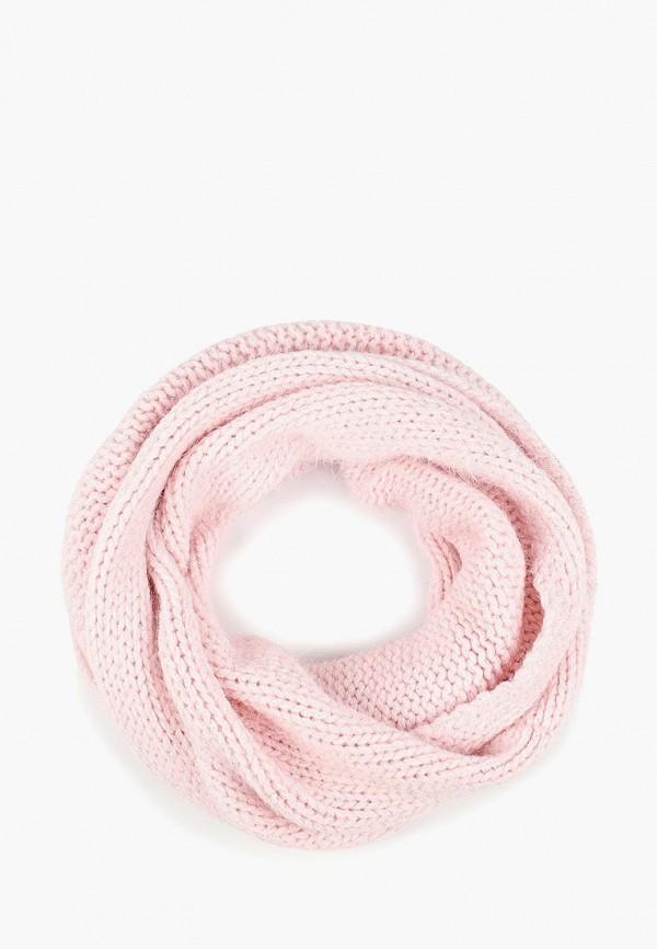 женский снуд baon, розовый