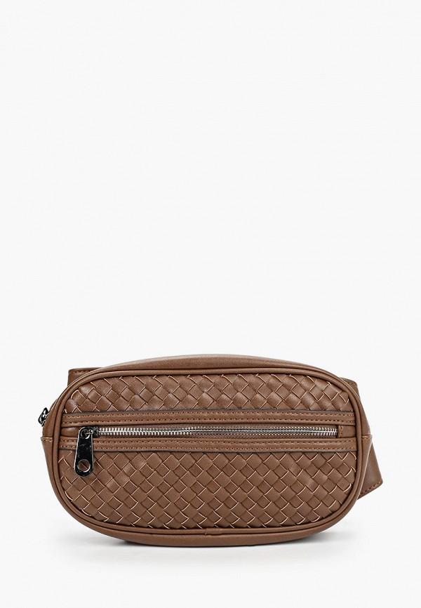 мужская сумка baggini, коричневая