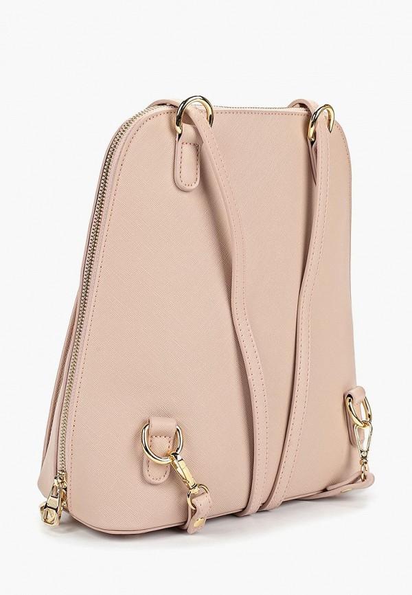 Фото 2 - женский рюкзак Baggini розового цвета