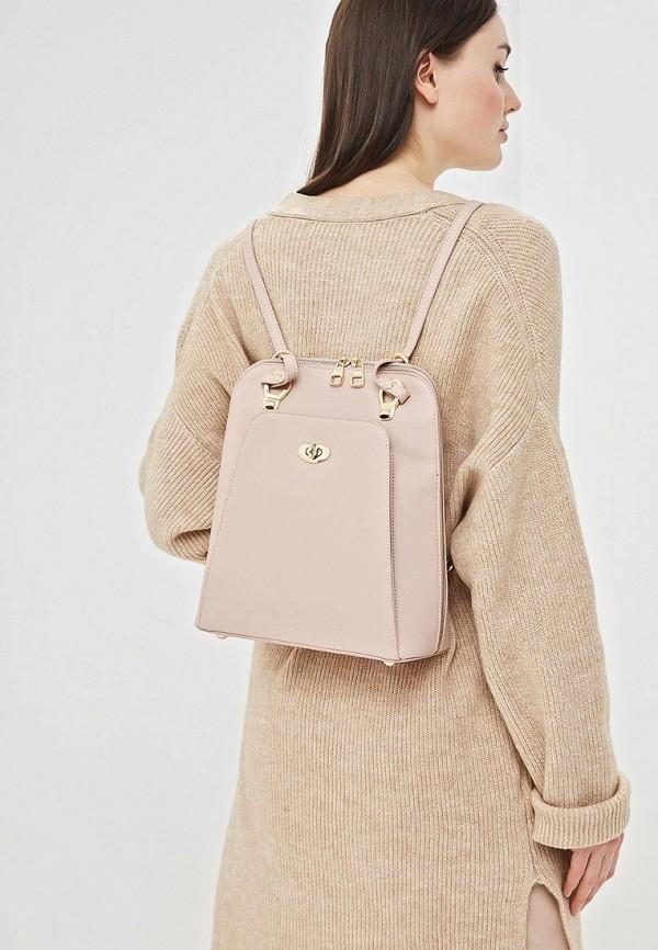Фото 4 - женский рюкзак Baggini розового цвета