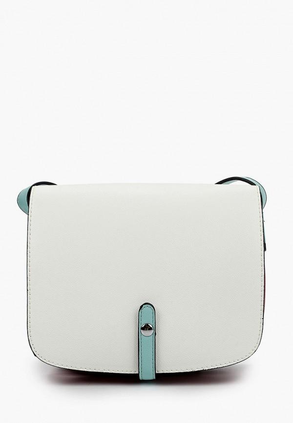 женская сумка baggini, белая