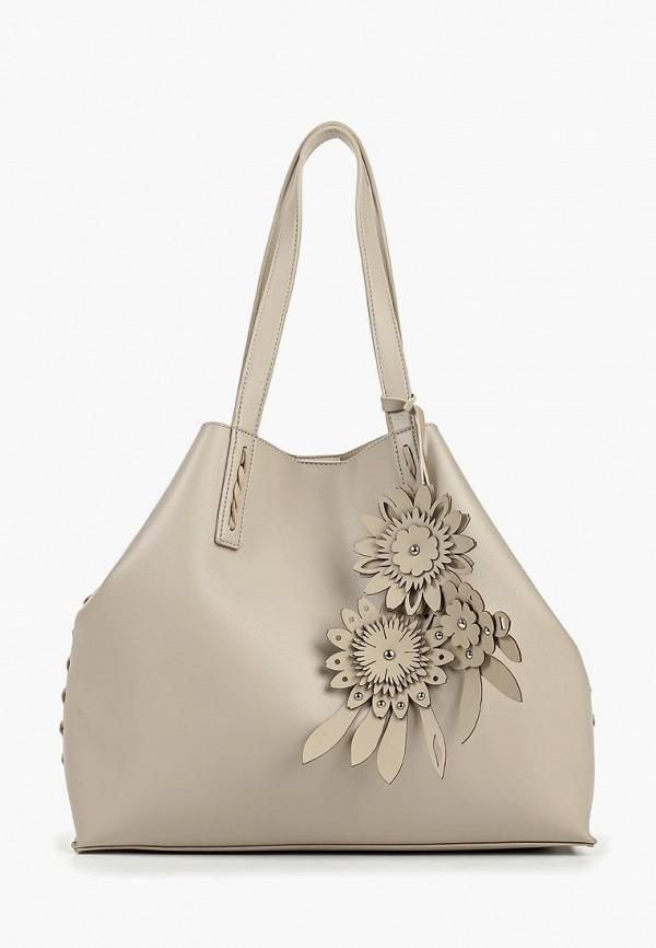 женская сумка baggini, серая