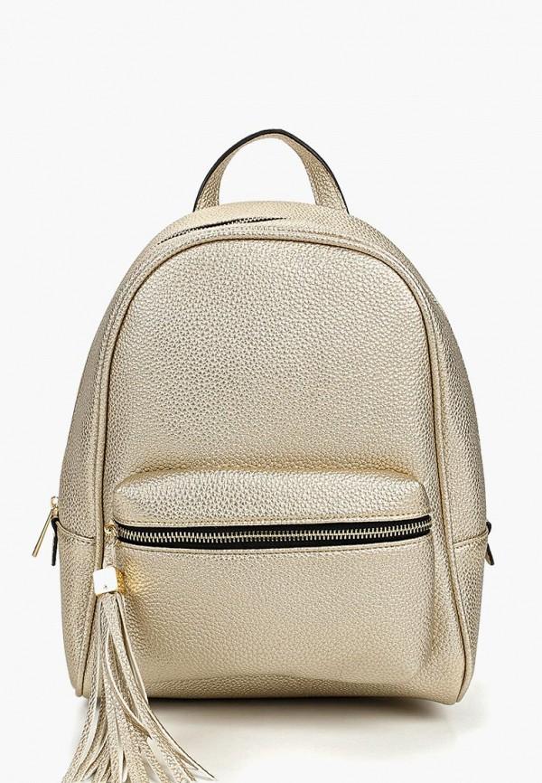 женский рюкзак baggini, золотой