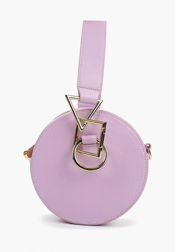 женская сумка baggini, фиолетовая
