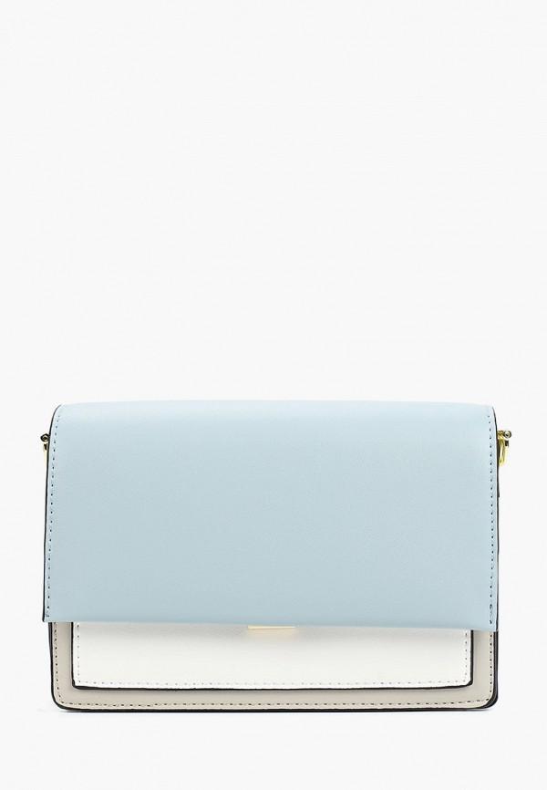 женская сумка baggini, голубая