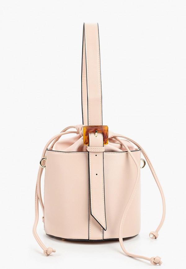 женская сумка baggini, розовая