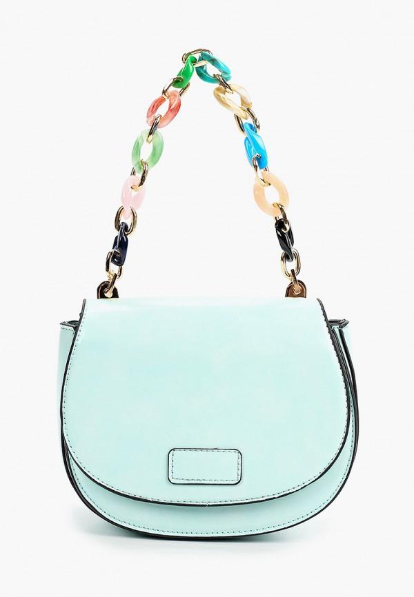 женская сумка baggini, бирюзовая