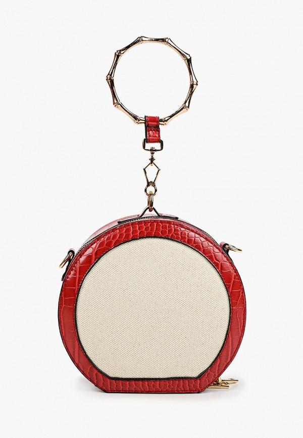 женская сумка baggini, красная