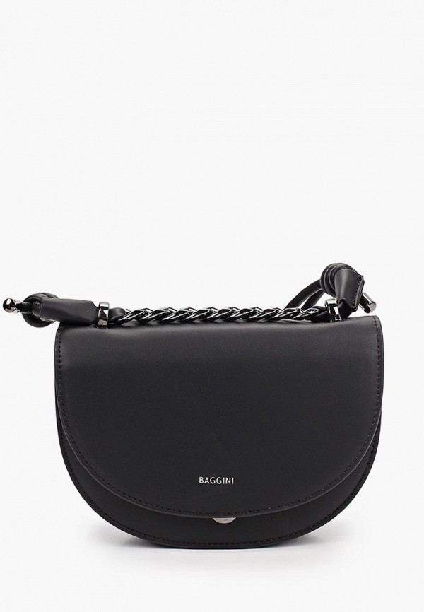 женская сумка через плечо baggini, черная