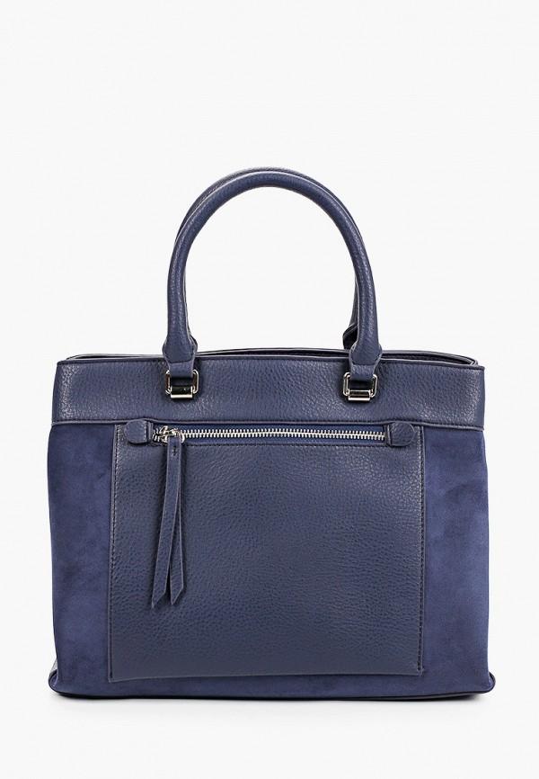 женская сумка baggini, синяя