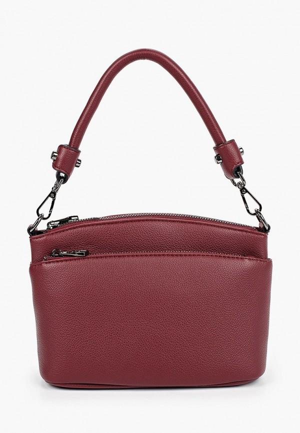 женская сумка baggini, бордовая