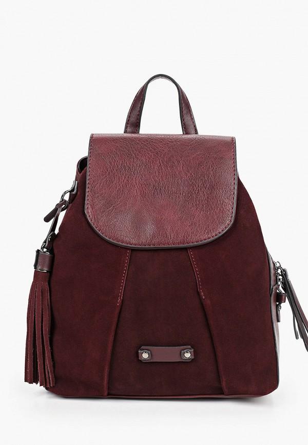 женский рюкзак baggini, бордовый