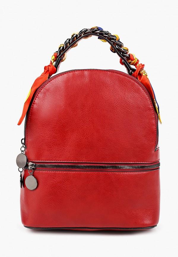 женский рюкзак baggini, красный