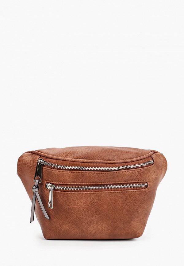 женская поясные сумка baggini, коричневая