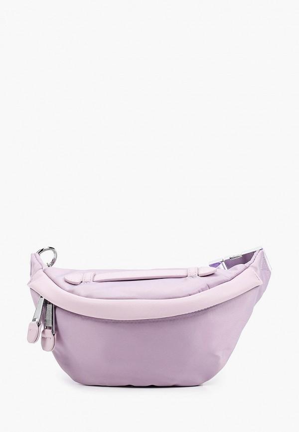 женская поясные сумка baggini, фиолетовая