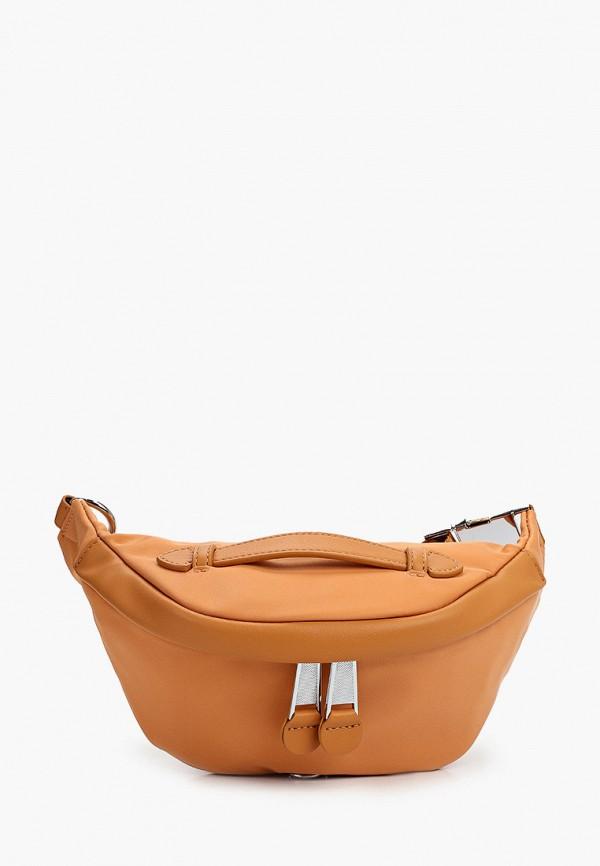 женская сумка baggini, оранжевая