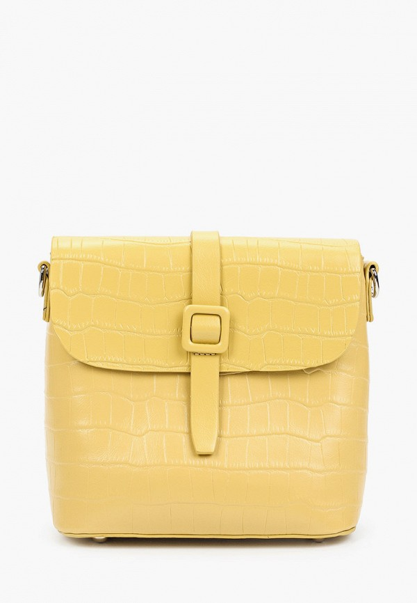 женская сумка baggini, желтая