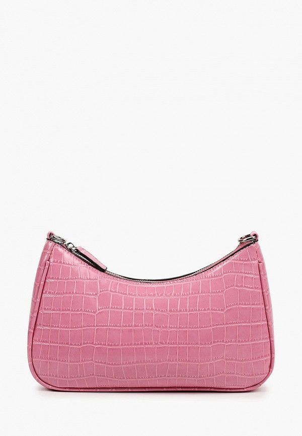 женская сумка с ручками baggini, розовая