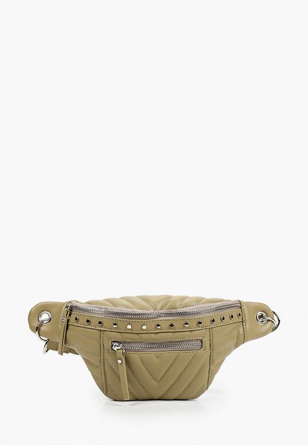 женская поясные сумка baggini, хаки