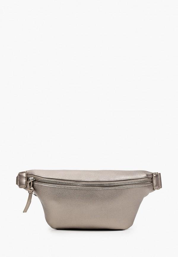 женская сумка baggini, золотая