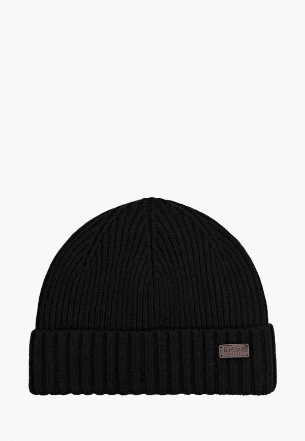 мужская шапка barbour, черная