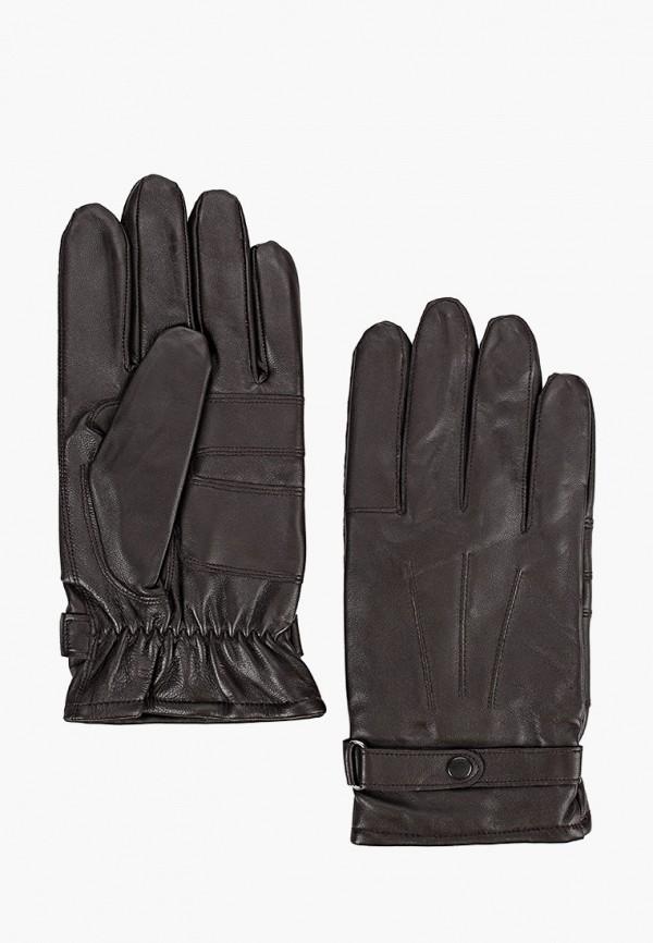 мужские кожаные перчатки barbour, коричневые