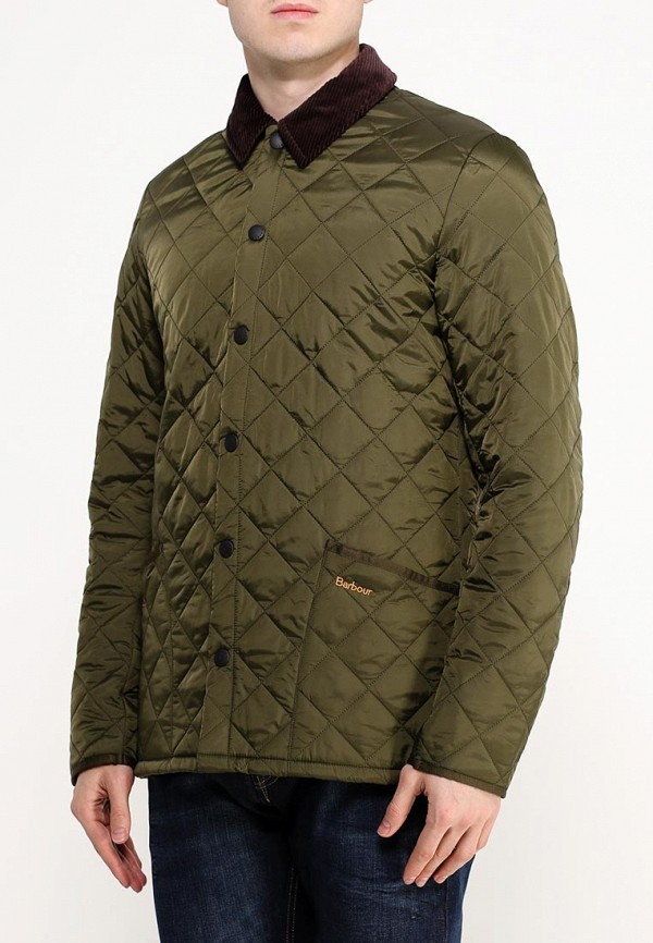 Куртка утепленная Barbour Barbour BA041EMGOF01 barbour heritage felted fairisle crew navy