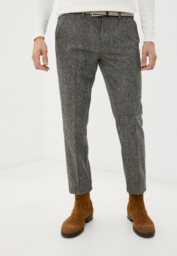 мужские классические брюки barbour, серые