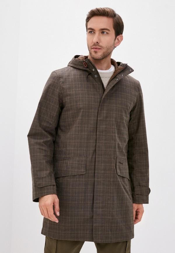 мужская куртка barbour, коричневая