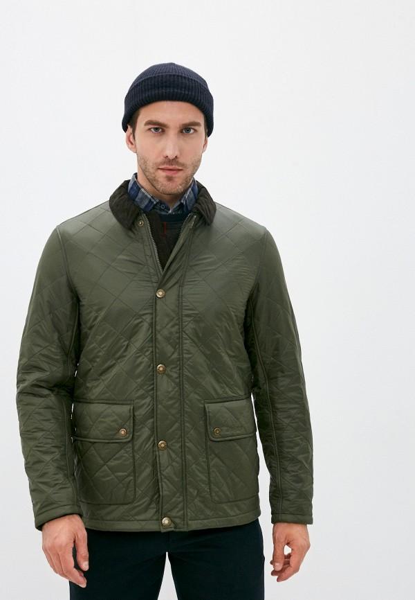 мужская куртка barbour, хаки