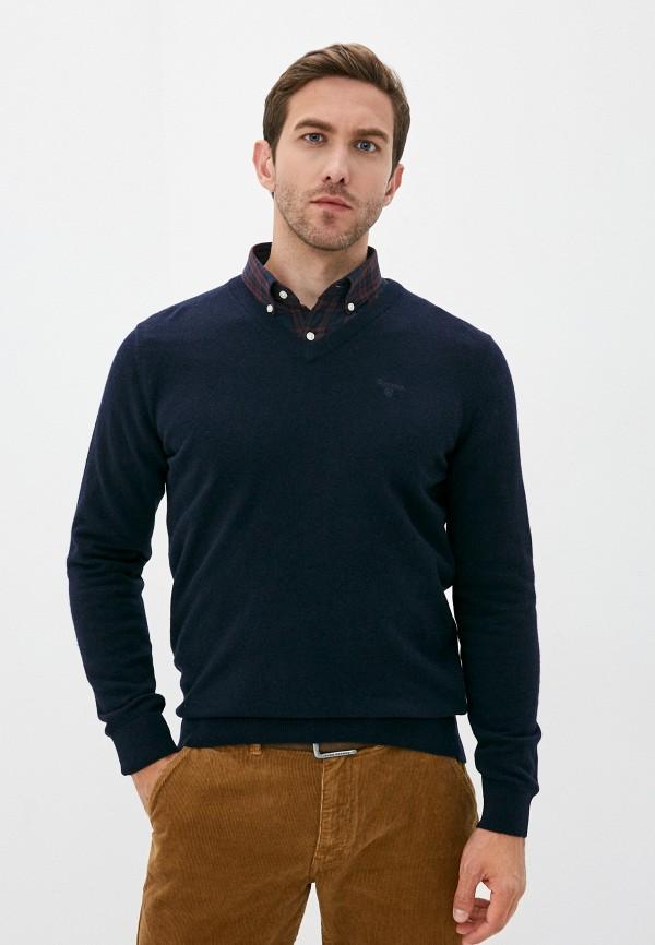 мужской пуловер barbour, синий