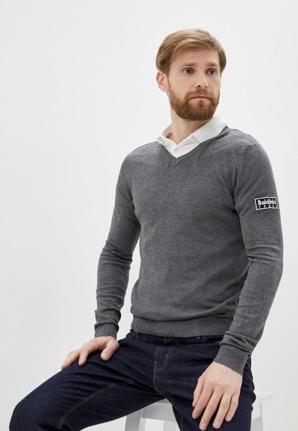 мужской пуловер baldinini, серый