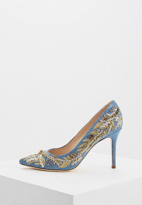 женские туфли ballin, голубые