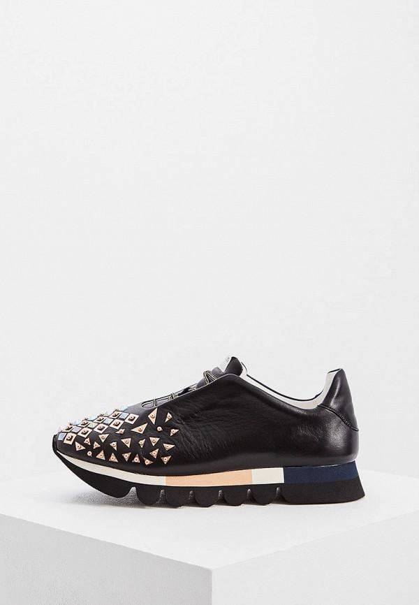 женские кроссовки ballin, черные