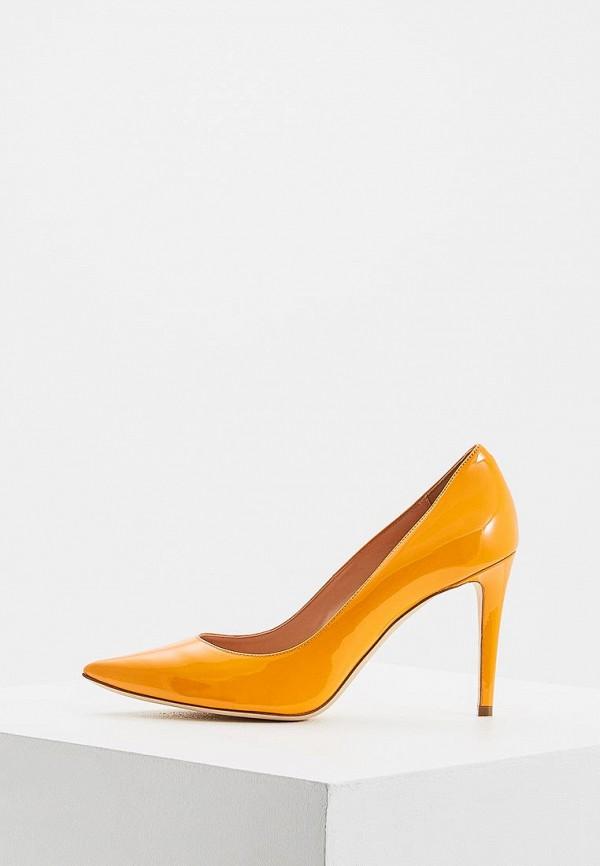 женские туфли ballin, оранжевые