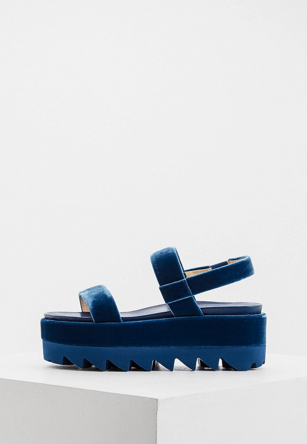 женские сандалии ballin, синие