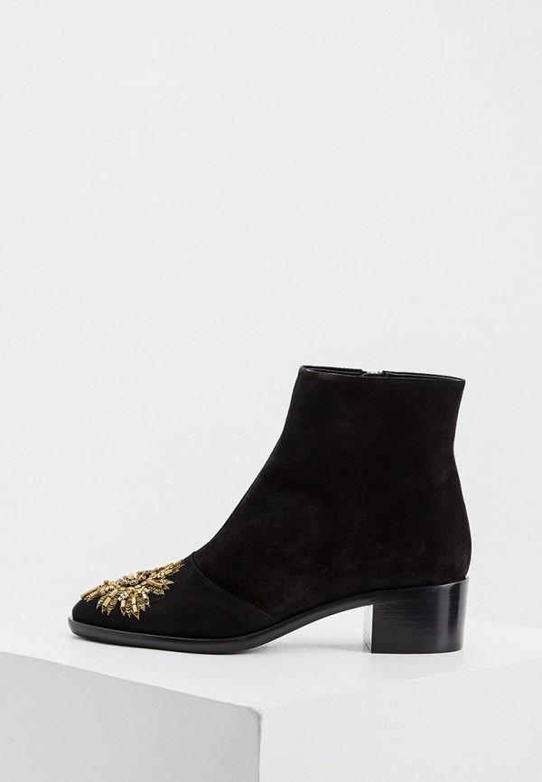 женские ботинки ballin, черные