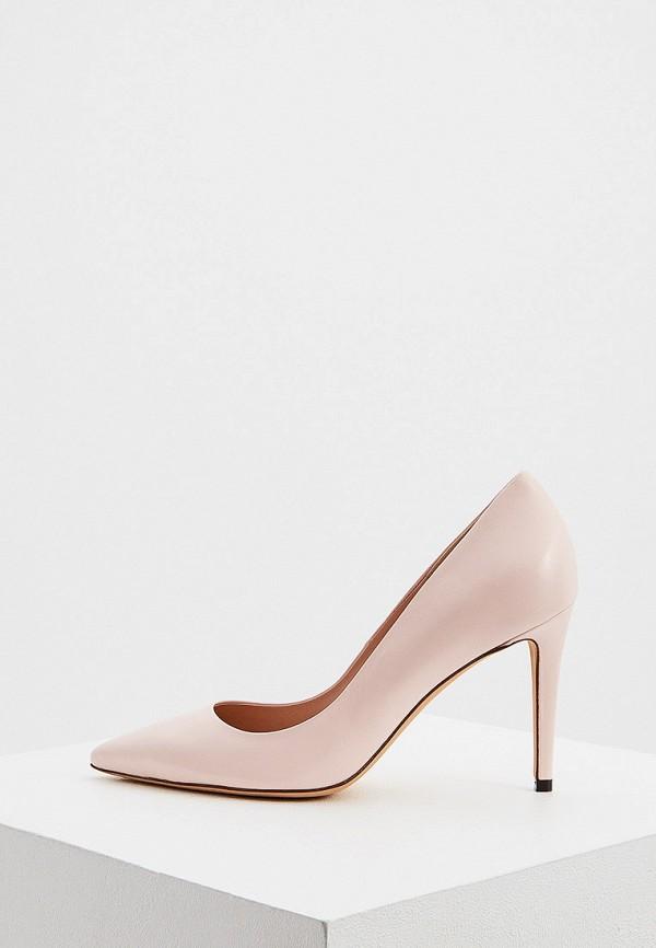женские туфли ballin, розовые