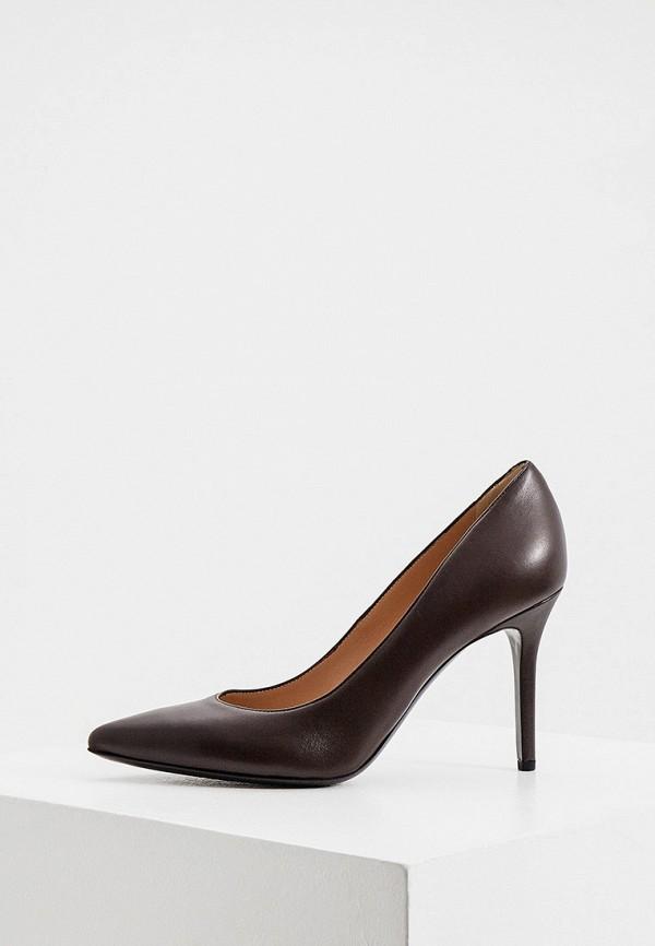 женские туфли ballin, коричневые
