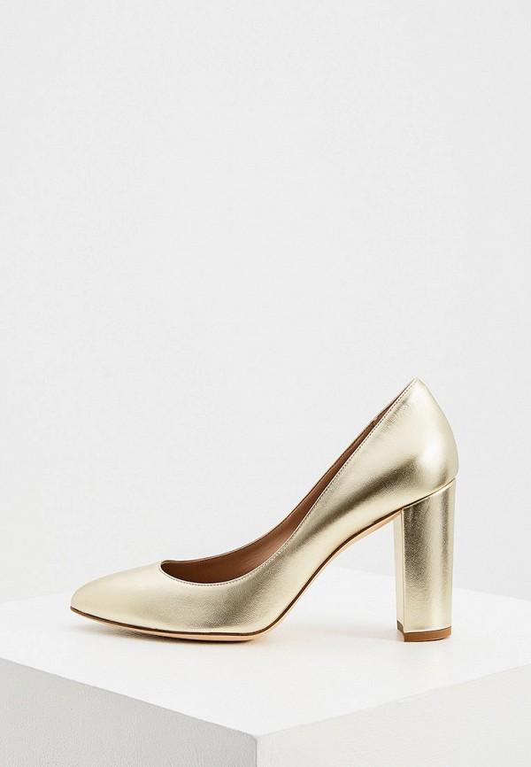 женские туфли ballin, золотые