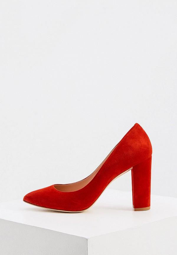 женские туфли ballin, красные
