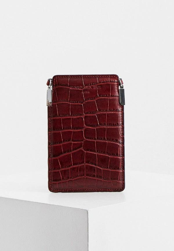женская сумка barbara bui, бордовая