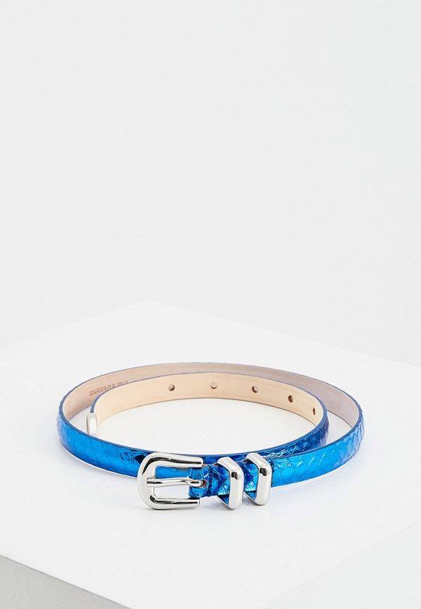 женский ремень barbara bui, синий