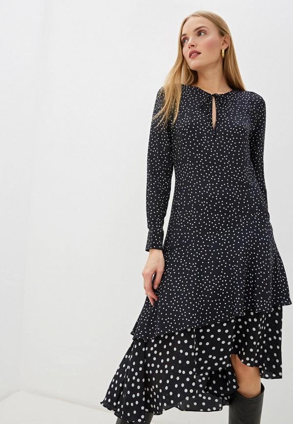 женское повседневные платье barbara bui, черное